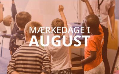 Mærkedage i august