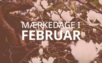 Mærkedage i februar